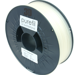 purefil of Switzerland - PLA - Filament - Transparent - 1.75mm - 1kg