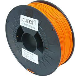 purefil of Switzerland PLA Neon - Filament - Orange - 1.75mm - 1kg