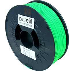 purefil of Switzerland PLA Neon - Filament - Grün - 1.75mm - 1kg