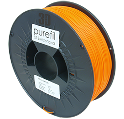 purefil of Switzerland - PLA - Filament - Orange - 1.75mm - 1kg