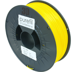 purefil of Switzerland - PLA - Filament - Gelb - 1.75mm - 1kg