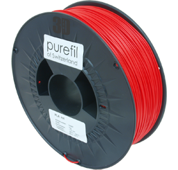 purefil of Switzerland - PLA - Filament - Rot - 1.75mm - 1kg