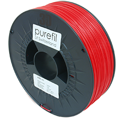 purefil of Switzerland ABS - Filament - Rot - 1.75mm - 1kg