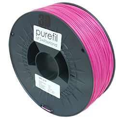 purefil of Switzerland ABS - Filament - Pink - 1.75mm - 1kg