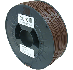 purefil of Switzerland ABS - Filament - Nussbraun - 1.75mm - 1kg