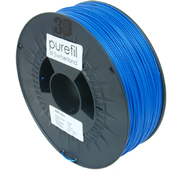 purefil of Switzerland ABS - Filament - Blau - 1.75mm - 1kg