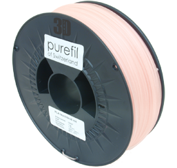 purefil of Switzerland Glow in the Dark - Filament - Rot - 1.75mm - 1kg