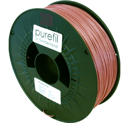 purefil of Switzerland Metal - Filament - Kupfer - 1.75mm - 1kg