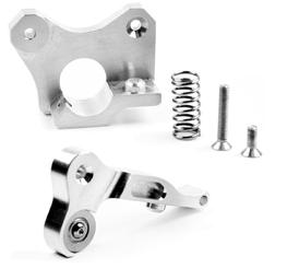 Micro Swiss - CNC Extruderhebel & Extruderplatte - Duplicator i3 (Plus)
