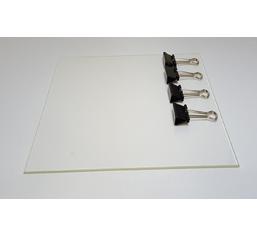 3D Druck Oberfläche - Borosilikatglas 200x215x3mm