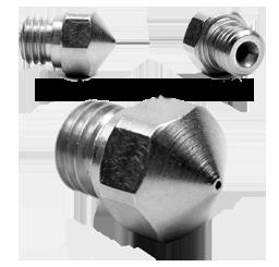 Micro Swiss - MK10 Düse - 0.6mm - TwinClad XT - Stahl