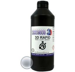 Monocure 3D Rapid Resin - 1000 ml - Klar - Transparent
