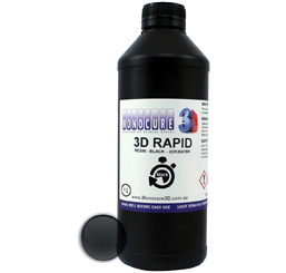 Monocure 3D Rapid Resin - 1000 ml - Schwarz - Transparent