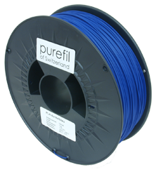 purefil of Switzerland - PLA - Filament - Dunkelblau - 1.75mm - 1kg