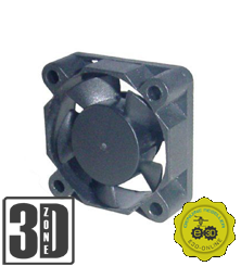 E3D Lüfter - 30x30x10mm - 24v - mit Kabel und Stecker