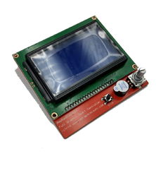 LCD Screen - Full Graphic Smart Controller - 12846 - Blaues LCD