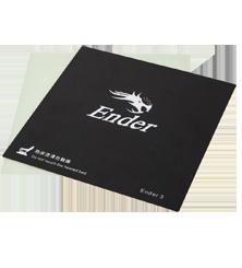 Creality Ender 3 Druckoberfläche (235x235mm)inkl Glasfaser-Platte und Klammern