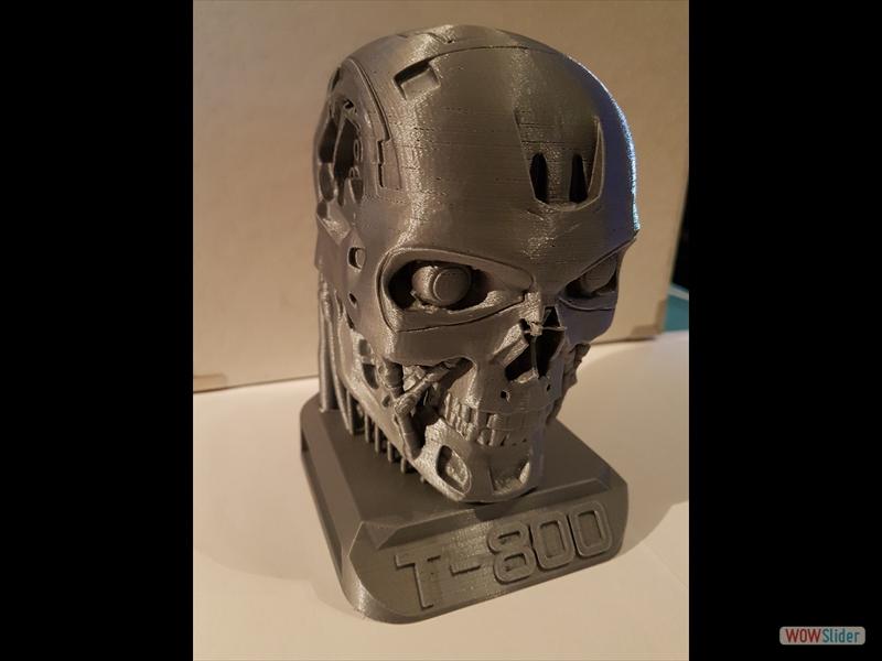 Terminator T800 aus PLA Aluminium