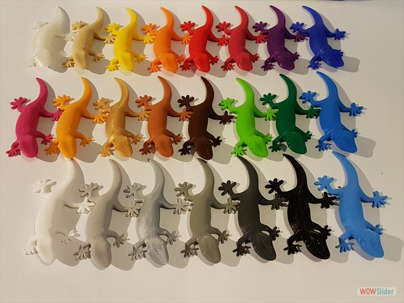 purefil of Switzerland - PLA - Geckos