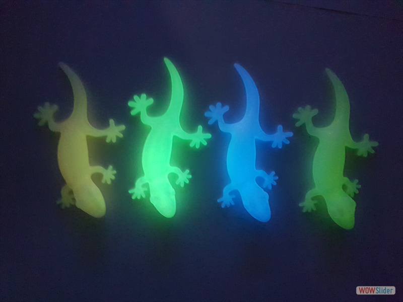 purefil of Switzerland - PLA - Glow - Geckos