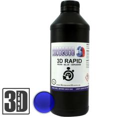 Monocure 3D Rapid Resin - 1000 ml - Blau - Transparent