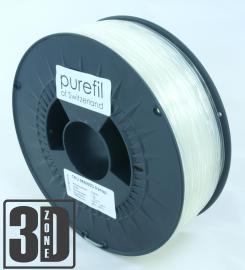 purefil of Switzerland - TPU - Flex Filament 98A/65D - Transparent - 1.75mm - 1kg